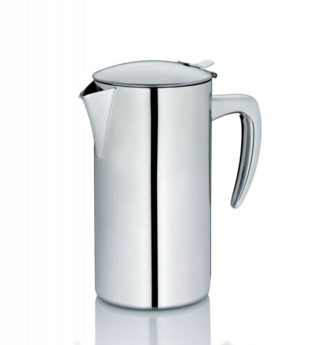 Kela Kaffeekanne Latina Edelstahl 1,1 l Kännchen Kaffee Kanne Tee Portionskanne