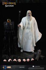 """ASMUS COLLECTIBLE TOYS 1/6 ACTION FIGURE LORD OF THE RINGS SARUMAN 12"""" NUOVO NEW"""