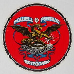 Powell-Peralta-CERCHIO-Dragon-Adesivo-Skateboard-Bones-Brigade