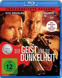 Lo spirito e l'oscurità [Blu-Ray/Nuovo/Scatola Originale] Michael Douglas a caccia del leone