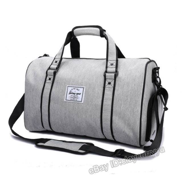 Men Women Large Gym Sports Bag Shoulder Bag Hand Luggage Duffel Pack ... 02d48d975e0e9