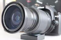 Wide Angle Macro Fisheye lens for Nikon D Series w/18-55 VR AFS as 50/35mm 52MM