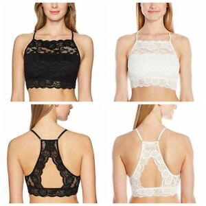 543e0b621e Image is loading Women-Sexy-Lingerie-Lace-Fishnet-Bralette-Bustier-Crop-