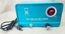 Vtg Holdem Hold Em Electric Fencer Model 51 Ranch Fence Charger Green