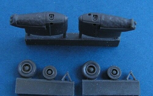 Pavla 172 Westland Lynx late version undercarriage for Hobby Boss # U72109