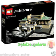 LEGO 21017 ARCHITECTURE Imperial Hotel in Tokio Japan Teile 1188pcs 10cm hoch