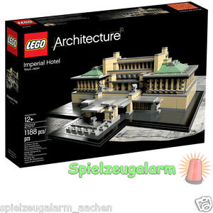 LEGO-21017-ARCHITECTURE-Imperial-Hotel-in-Tokio-Japan-Teile-1188pcs-10cm-hoch