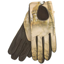 Cire by Grandoe Prelude Sheepskin Gloves Paris Size Small Women's New