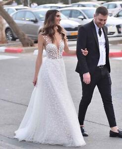 SEXY-Spitze-Brautkleid-Hochzeitskleid-Hochzeit-Kleid-Abendkleid-Ballkleid-BC729