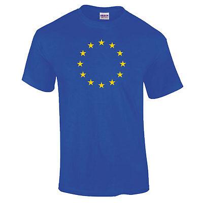European Stars Union EU Flag Brexit Remain European Blue Gift COOLTEX POLO