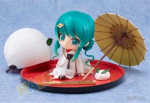 Nendoroid-303-Snow-Miku-Strawberry-White-Kimono-Figura-Modelo-de-juguete