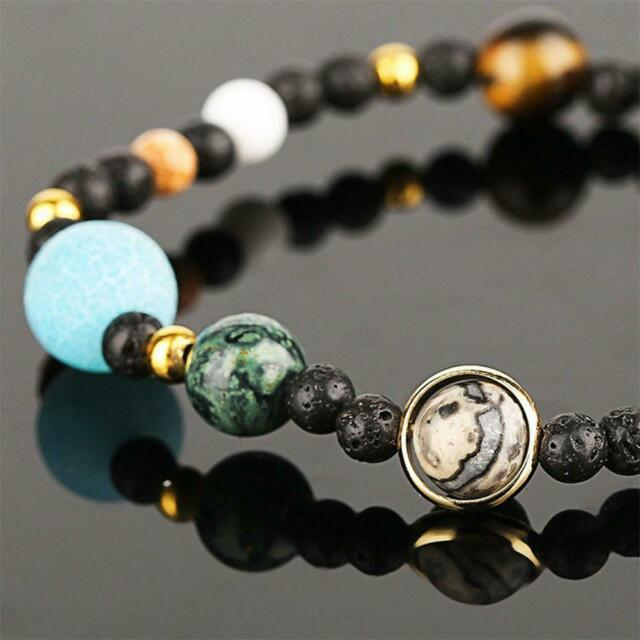 Eight Planets In The Solar System Bracelet Beads Jewelry Gift for HerCollect US