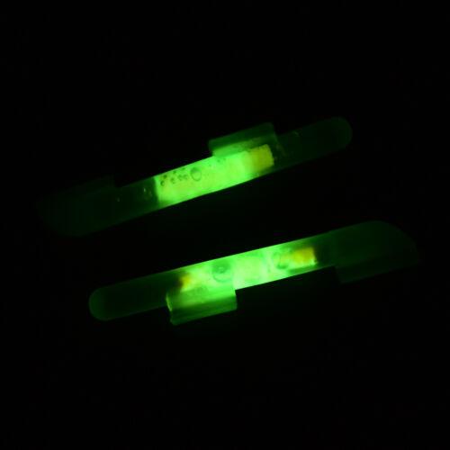 20X Fishing Lights Night Fluorescent Glow Stick Lightstick Clip-on Rod 4size LU