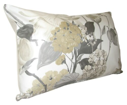 """NINA CAMPBELL Penrose gold /& crème coussin couverture 20/"""" X 12/"""""""