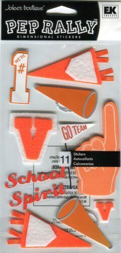 Jolees Pep Rally Scrapbook Stickers Basketball Cheer Band Soccer Football Spirit