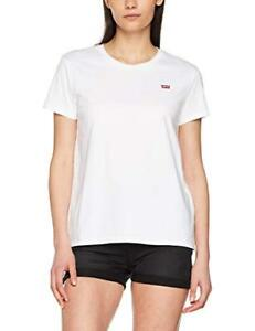 3d335e50d886e Levis Womens Jeans The Perfect T Shirt Housemark Bright White Red ...