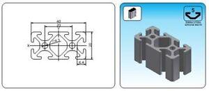 T-Slot-Aluminum-Profile-20x40-Serial-5-900mm-Profil-Extrusion-Extruded-2040