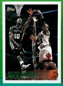 David Robinson regular card 1996-97 Topps #80