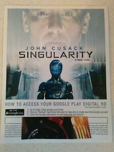 SINGULARITY-Canada-only-Digital-movie-code