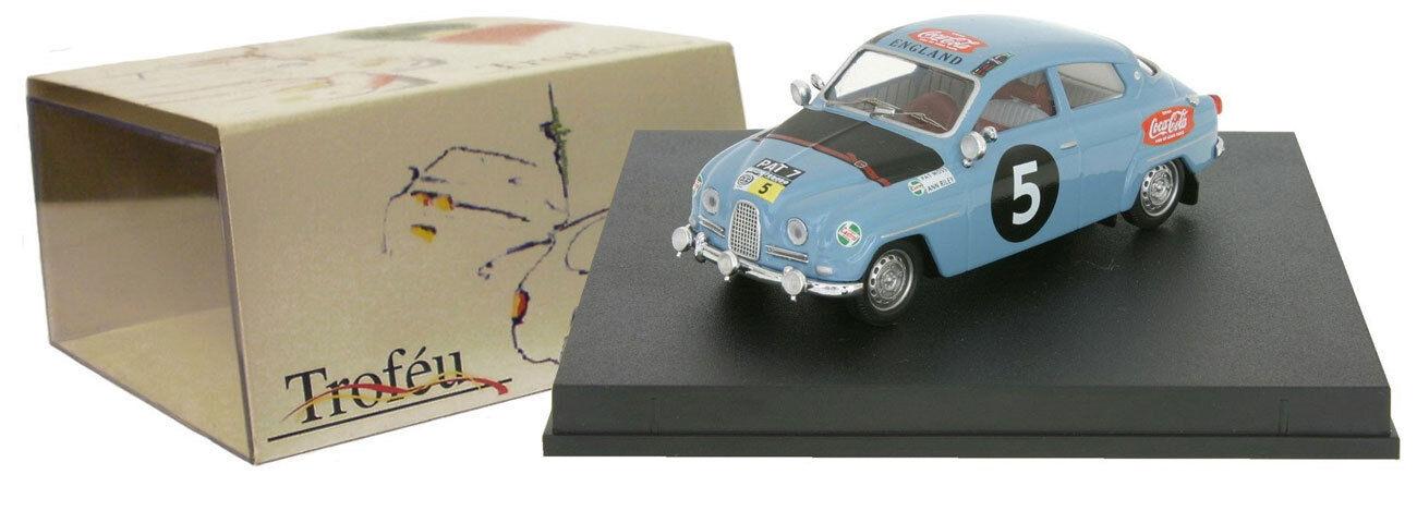 envío gratuito a nivel mundial Trofeu 1509 Saab 96  5 5 5 East African Safari Rally 1962-Pat Moss 1 43 Escala  tienda en linea