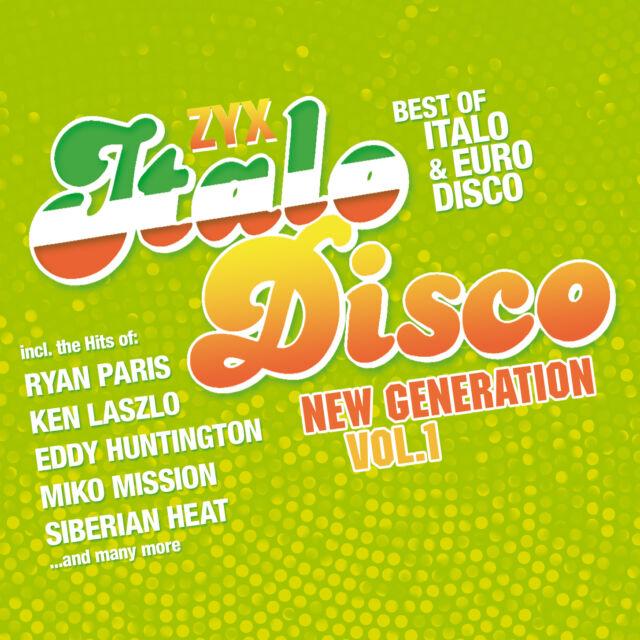 CD ZYX Italo Disco New Generation Vol.1 D'Artistes Divers 2CDs
