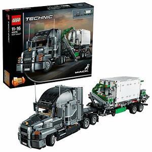 Lego-Technic-42078-Mack-Anthem-LKW-Anhaenger-Truck-Container-Technik-Anleitung