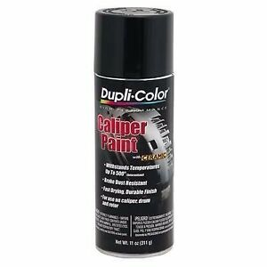 Dupli Color Bcp100 Black Brake Caliper Spray Paint Durable Protective Coating