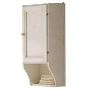 Pensile bagno mobile decapè bianco con anta e mensola esterna ...