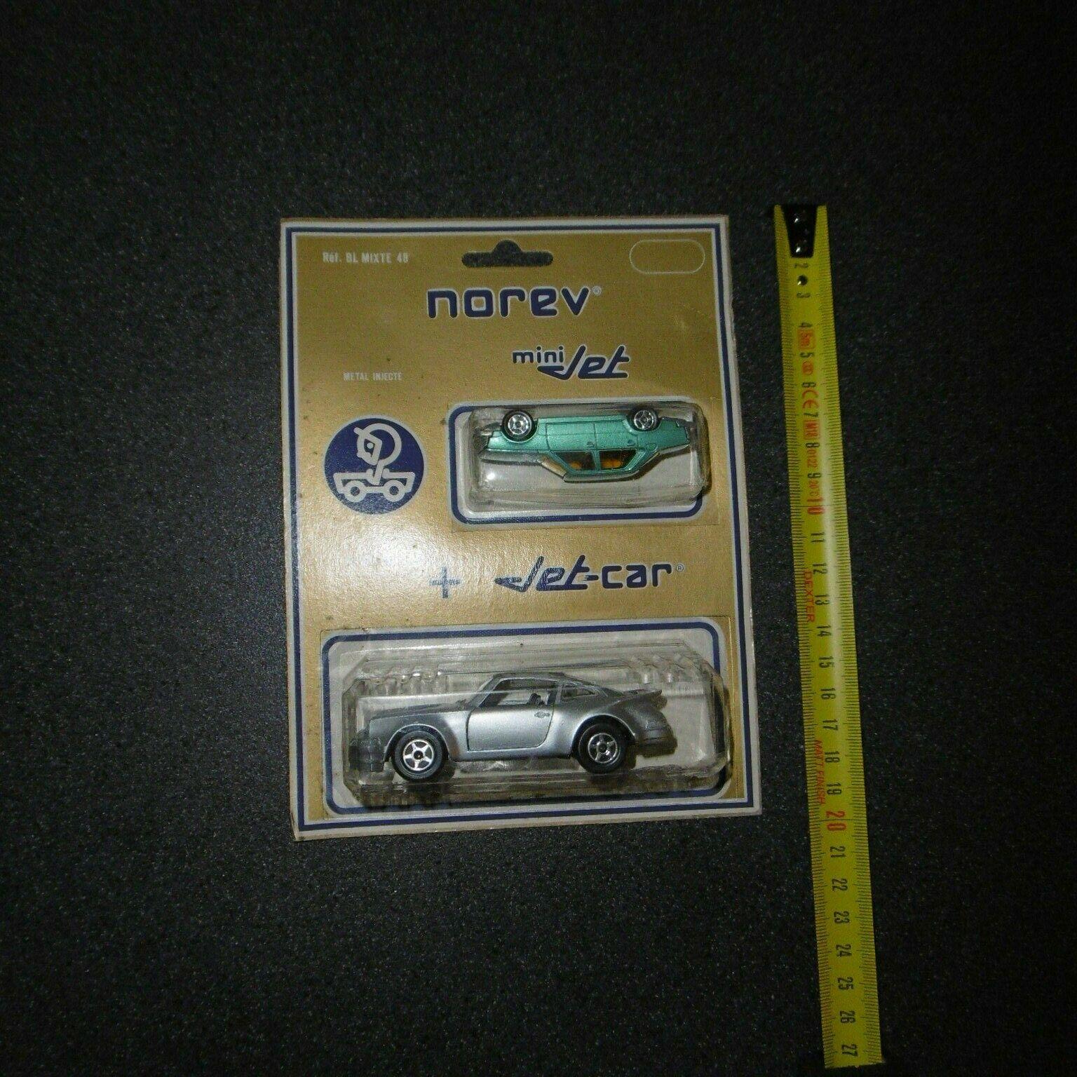 Rare blister mixed ref 48 norev jet-voiture  + mini porch  + jet renault 18 gts  Commandez maintenant