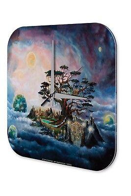 Diskret Wanduhr Fantasy Gothik Krakowski Traumbaum Nebel Planeten Wand Deko Uhr Retro Ein Unbestimmt Neues Erscheinungsbild GewäHrleisten
