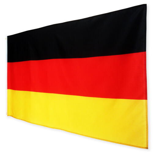 Fahne Deutschland Querformat 90 x 150 cm deutsche Hiss Flagge BRD Nationalflagge