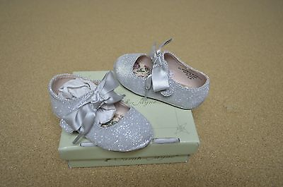 New Girls Toddler Sarah Jayne Becky Mary Janes Style 99124092 Silver rt