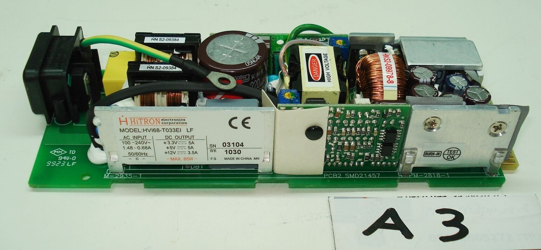 hitron power supply HVI68-T033EI LF Input 100-240V, DC Output 3.3-12V, 5-3.5A