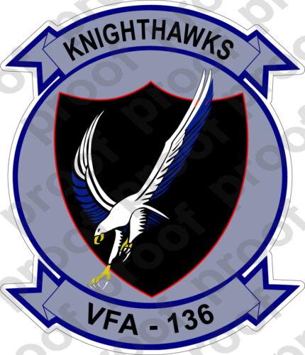 STICKER USN VFA 136 Knight Hawks