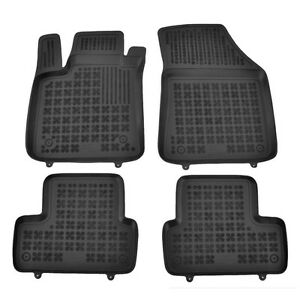 4 tapis caoutchouc renault megane 4 11 2015 up tous. Black Bedroom Furniture Sets. Home Design Ideas