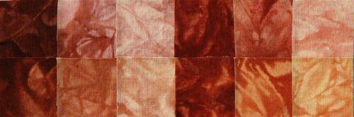 Starr Design Fabrics 12 Fat Quarter Pack Shades of Honey