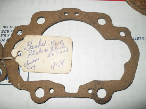 NOS clinton small engine REED PLATE GASKET 454   2X3200 antique clinton