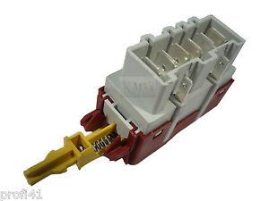 AEG Electrolux Privileg Haupt Ein Aus Netz Schalter Rold Serie SBA10 1151 8polig