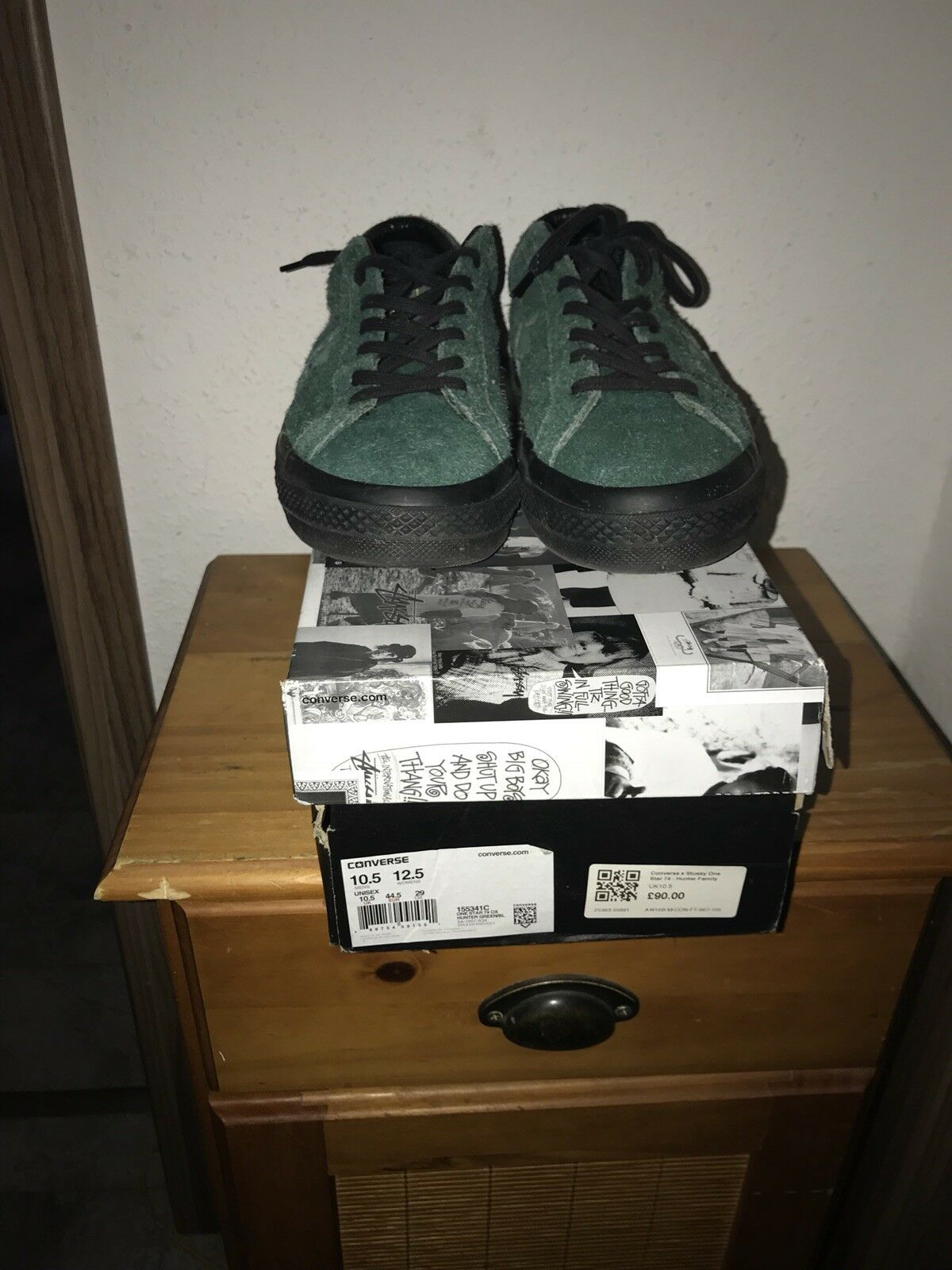 Converse x stussy One Star EU44.5 US10.5 UK10.5