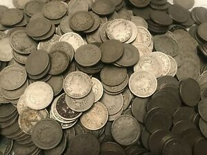 Lot-of-12-Liberty-Head-Nickel-Starter-Collection-Nice-Condition-Vintage