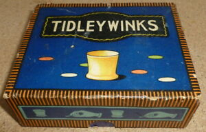 VINTAGE-CHAD-VALLEY-BOXED-TIDLEYWINKS-GAME-1950-c-Tiddleywinks