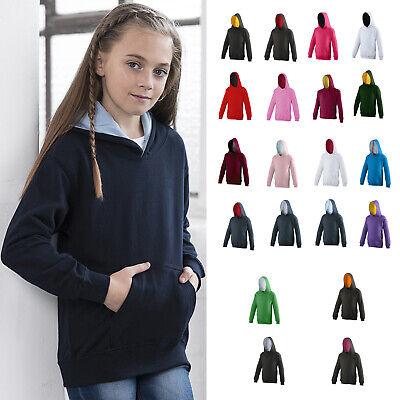 AWDis Kids Varsity Hooded Sweatshirt//Hoodie//Schoolwear