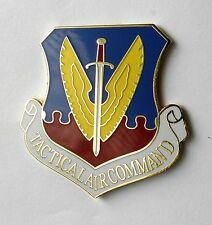 TACTICAL AIR COMMAND USAF AIR FORCE LARGE LAPEL PIN BADGE 1.5 INCHES