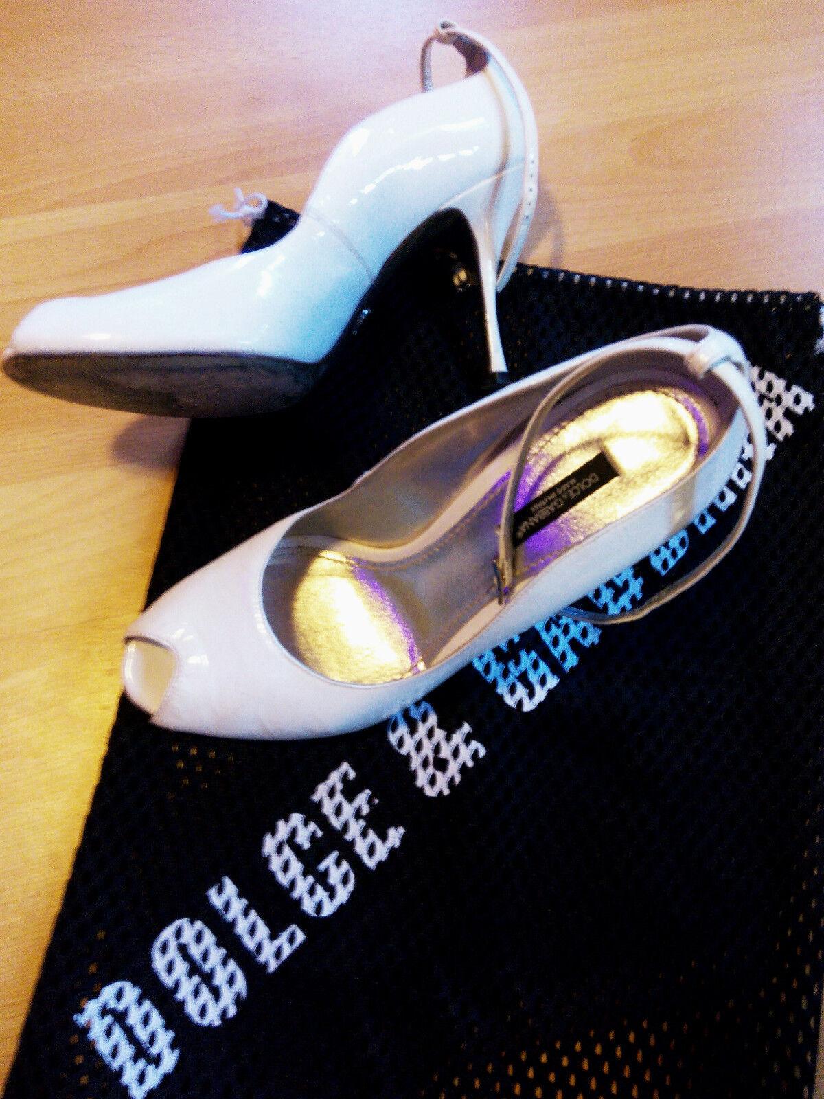 Dolce & Gabbana Hochzeit Weiss Damen Schuhe Gr. 37.5