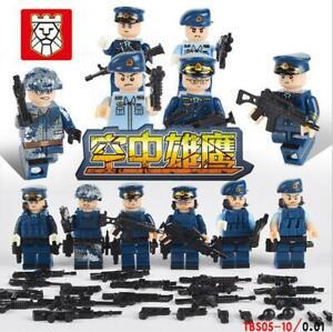 Spielzeug-Toys-DIY-Militaer-Soldaten-Waffen-Heer-Marine-Luftwaffe-Baukaesten-6PCS