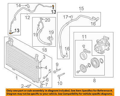 GM OEM A//C AC Condenser//Compressor//Line-Ac Tube O-ring 13579648
