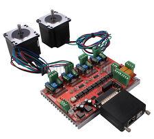 2 Axis CNC Kit Nema23 Stepper Motor Driver Mach3 Motion Control USB MPG Converte