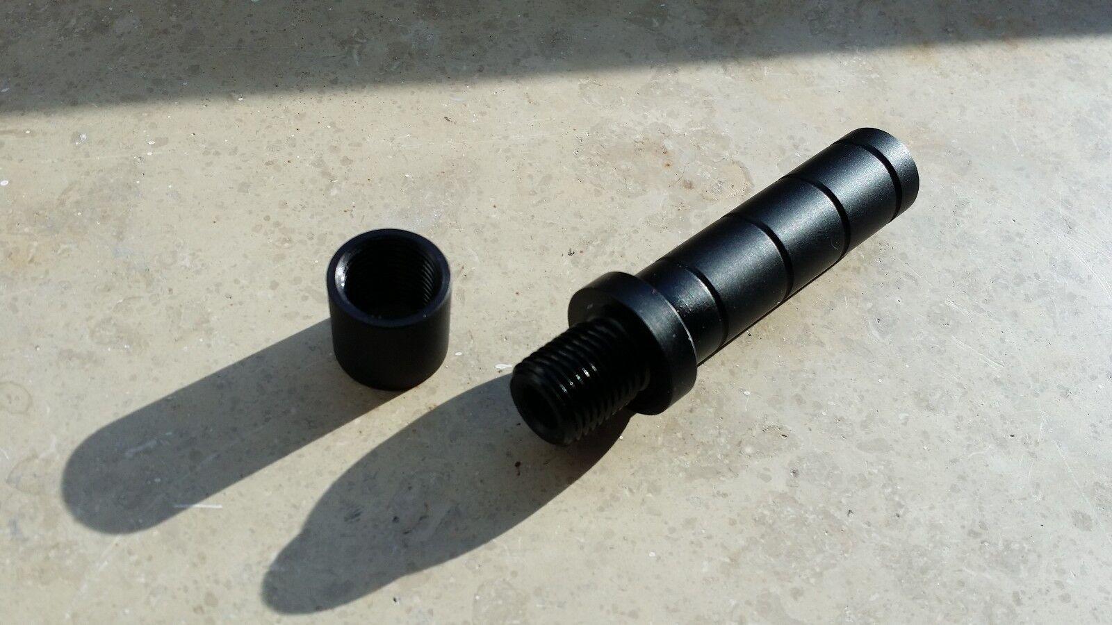 Schalldämpfer Adapter für Feinwerkbau FWB 600 601 602 603 C60 mit  1 2 x 20 UNF