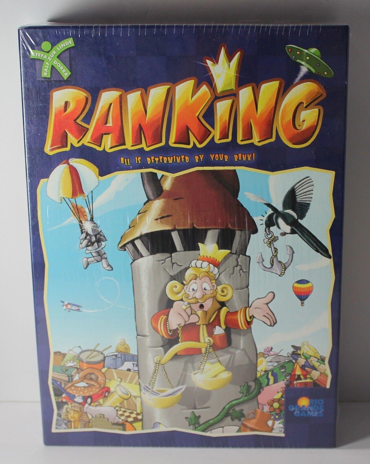 Mayfair Games Stefan Dorra/'s Intrigue Board Game NEW /& Sealed!