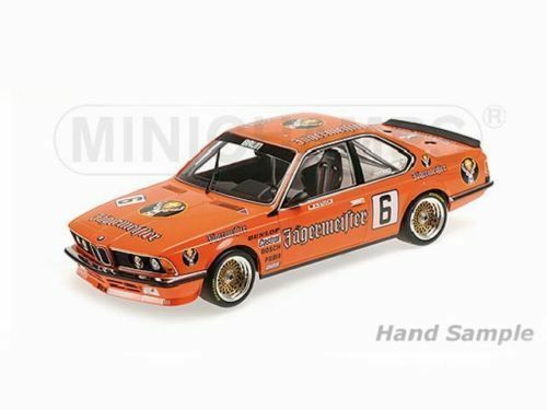 1 18 Minichamps BMW 635 Csi Jägermeister H. J. Pieza Zolder Dpm 1984